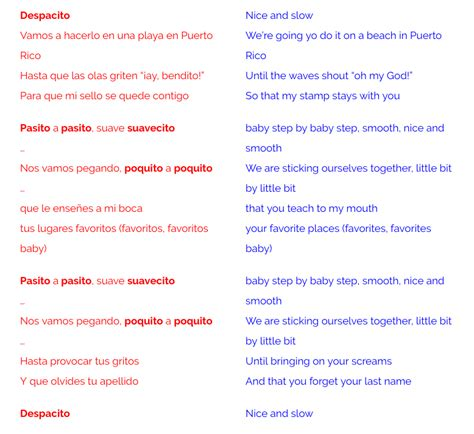 despacito with english lyrics justin bieber despacito lyrics english