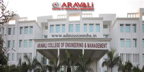 Mba In Faridabad by Aravali College Aravali College Of Engineering Management