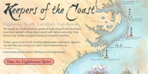 carolina lighthouse map quiz our state magazine
