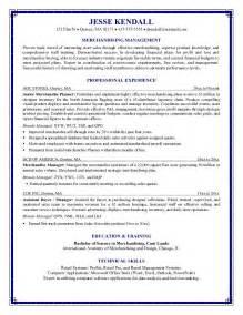 Fashion Merchandiser Resume Format Resume Cover Letter