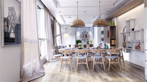 An Dining Room In Cool Dining Room Design For Stylish Entertaining