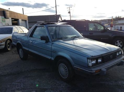 old car manuals online 1986 subaru brat transmission control 1986 subaru brat 4speed manual four wheel drive with low range