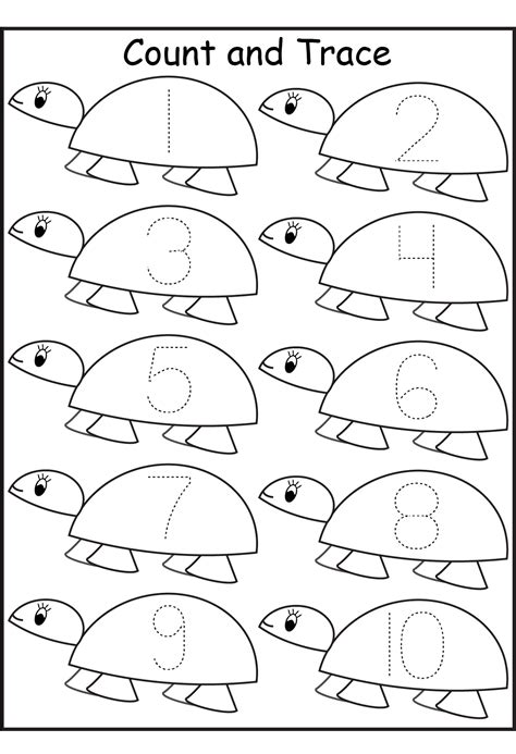 Free Printable Pre K Worksheets by Pre K Worksheets Number Activity Shelter