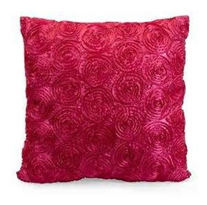Pillows for sweet and girly theme room hot pink color nishport