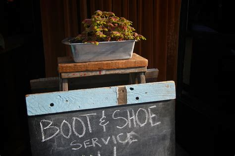boot and shoe service out to eat boot shoe service shutterbean