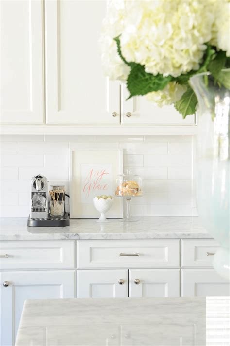 Backsplash For Kitchen With White Cabinet by New Interior Design Ideas For The New Year Home Bunch