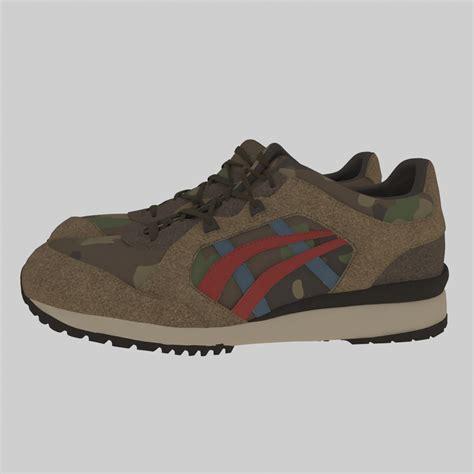 asics sport shoes asics sport shoes by sukru boyraz 3docean