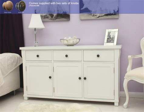 painted living room furniture new white painted furniture large living dining room sideboard ebay