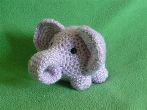 amigurumi elephant elephant a space of my own