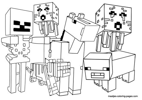 minecraft guardian coloring page girl craft minecraft cake ideas and designs