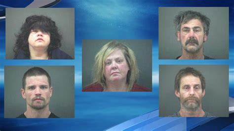 Johnson County Warrant Search Newport Serve Search Warrant Arrest Five On Related Charges Katu