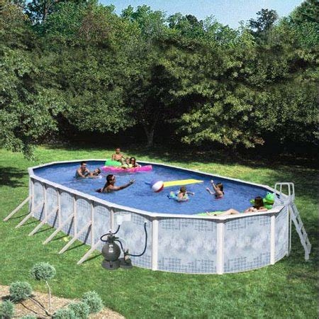 12 x 52 pool heritage oval 24 x 12 x 52 quot above ground swimming pool