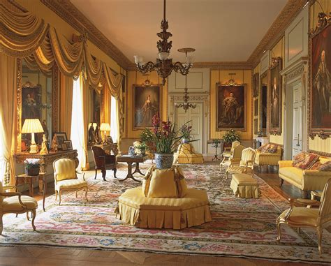the drawing room goodwood house an country house home