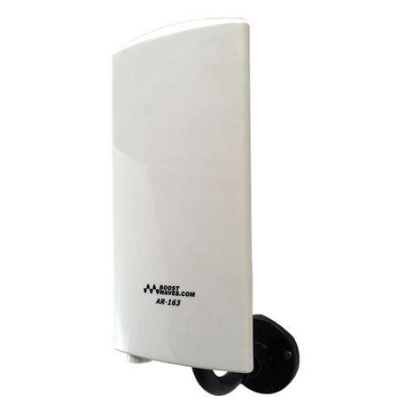 boostwaves amplified digital outdoor indoor hdtv antenna ar  uhfvhf high quality  range