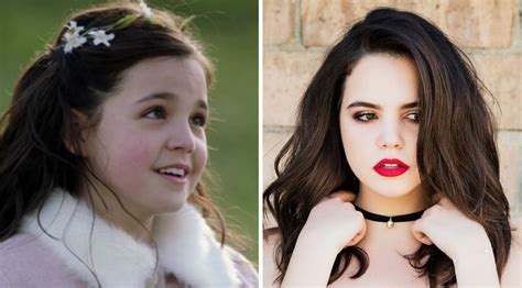 bailee madison on once upon a time quot once upon a time s quot young snow white became a total