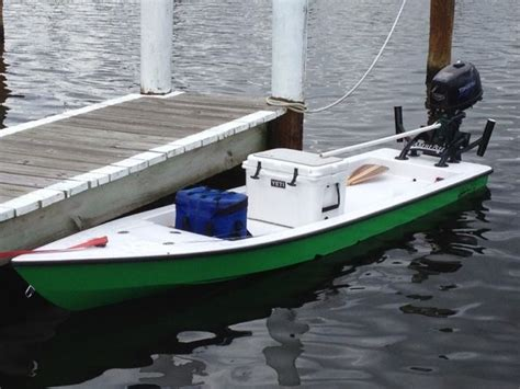 small boat paddle microskiff small boat paddle board pinterest pesca