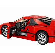 Lego Ferrari F40 Announced Iconic 1987 Supercar's
