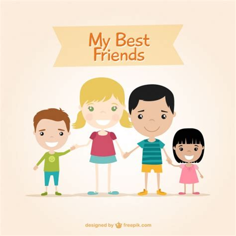 My Friends by My Best Friends Vector Free