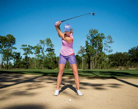 golf swing for tall players paula creamer sand smarts new zealand golf digest