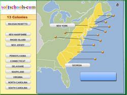 colonie map game online game match the colony name to the map 13 colonies pinterest study to the and game