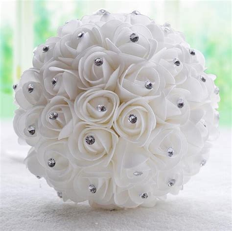 Discount Bridal Bouquets by Get Cheap Bridal Bouquet Aliexpress