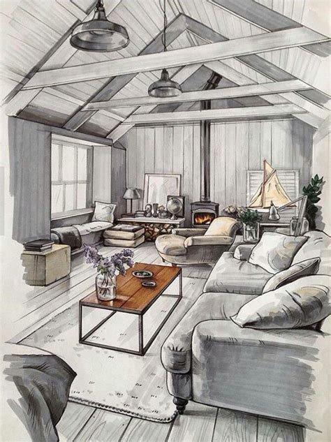 house interior sketch best 25 interior sketch ideas on pinterest interior
