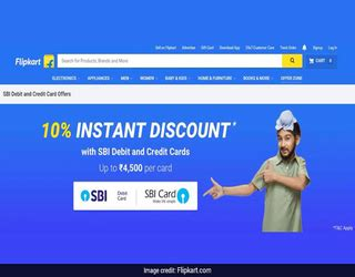 How To Use Sbi Gift Card - flipkart big billion sale how to get up to rs 4 500 off with sbi cards emiclon