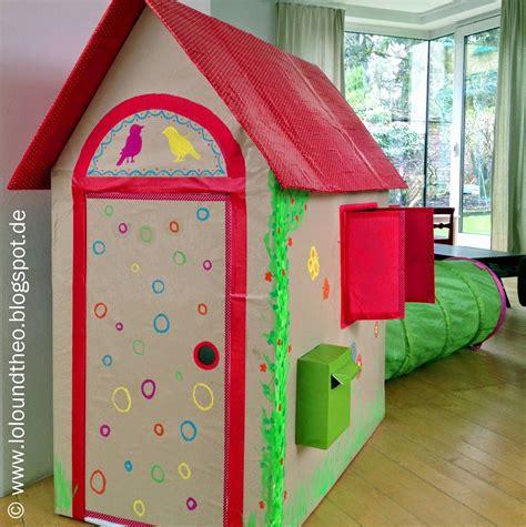 Spielhaus Aus Pappe Selber Bauen 4588 by Diy Spielhaus Aus Kartons Kartonhaus Zum Spielen