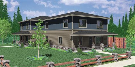 corner lot house plans corner duplex house plans duplex house plans