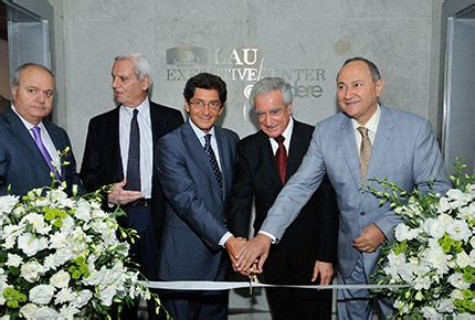 Lau Lebanon Executive Mba by Lau News Lau Unveils Executive Center At Solidere
