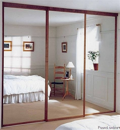 mirror closet doors for bedrooms mirror sliding closet doors for bedrooms decor