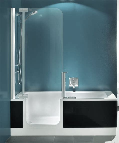 Bathroom Shower Tub Combo Walk In Bathtub Shower Combo Tubs Jacuzzis Walk In Bathtub Showers And