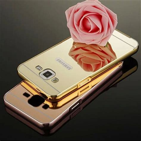 Casing Samsung Grand 2 G7102 Rabbit Flower Rhinestones gold luxury bling mirror for samsung galaxy g7106 cover for samsung galaxy