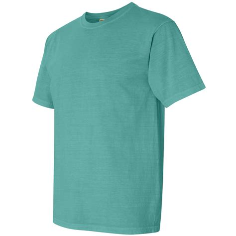 comfort colors seafoam comfort colors 1717 garment dyed heavyweight ringspun