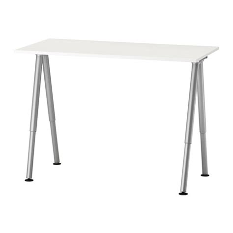 adjustable height desks ikea thyge desk ikea