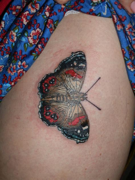 tracy s butterfly tattoo by 01207bigal on deviantart