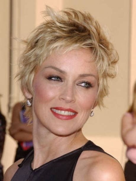 short hair styles for women over 40 round face short layered haircuts for women over 40