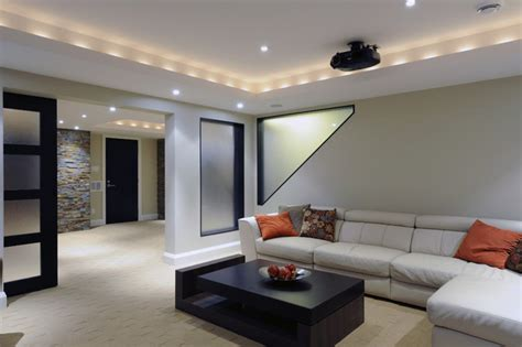 modern contemporary basement design build remodel modern modern basements 16 design ideas enhancedhomes org