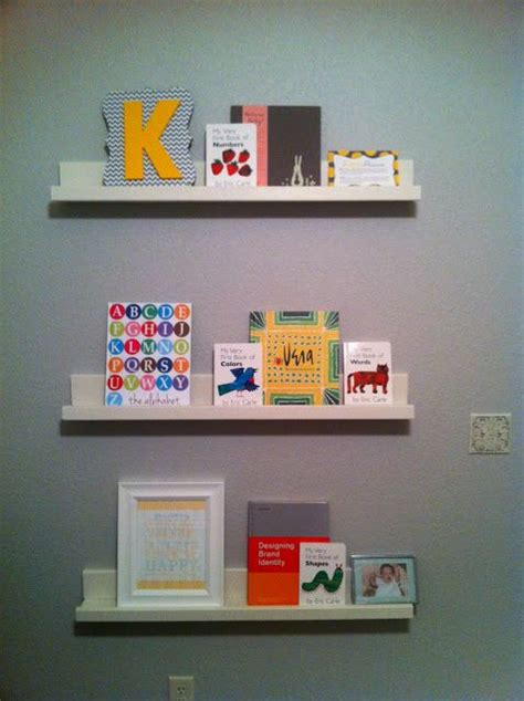 ikea floating shelves for books to sort pinterest