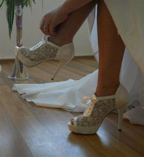 Wedding Shoes Booties by Lace Wedding Shoe Designed Specially For You Quot 8445