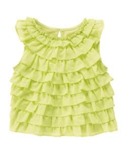 Gymboree Blossom Smocked Ruffle Top my gymboree shop