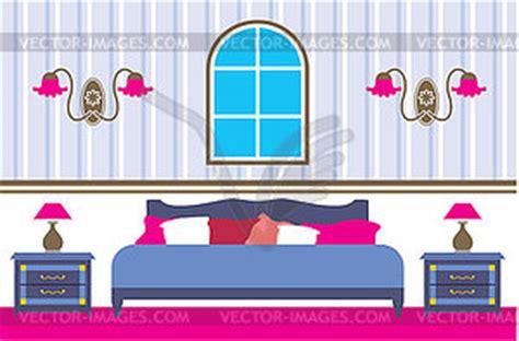 schlafzimmer clipart schlafzimmer vektor bild