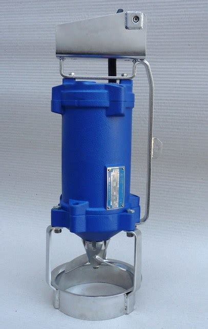 Mixer Qmax pumps industry water resources management sigma 1868 spol s r o