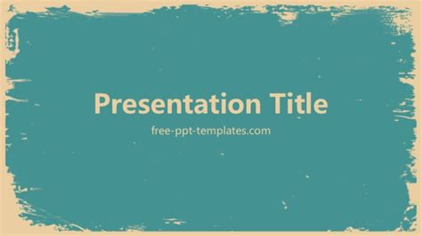 powerpoint templates free retro retro powerpoint template