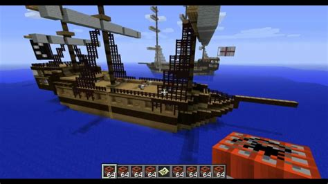 how to build a giant boat in minecraft minecraft pirate ship youtube