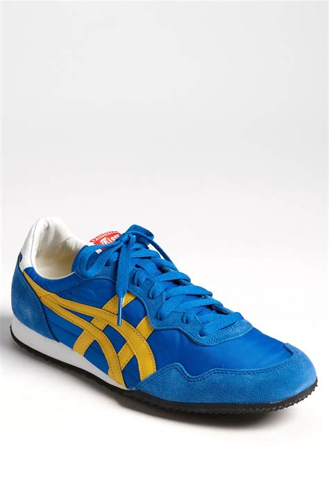 tiger shoes onitsuka tiger serrano sneaker in blue for blue
