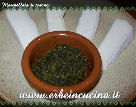marmellata di sedano erbe in cucina ricetta marmellata di sedano