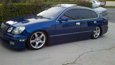 jdm lexus gs400 ca 1998 lexus gs 400 spectra blue mica vip out air ride
