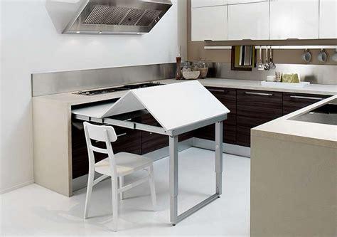 cucine con tavoli estraibili cucina penisola estraibile foto 5 40 design mag