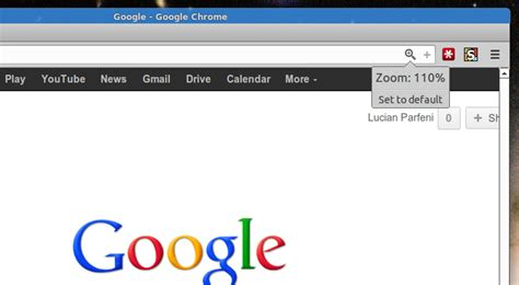 chrome zoom google chrome gets a zoom icon and notification softpedia